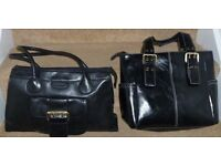 Black Handbags/Shoulder Bags 1 New & 1 Lightly Used