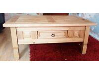 Modern Wooden Oak Coffee Table £30 ONO