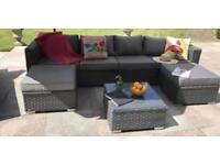 Rattan Garden furniture (cushions only )