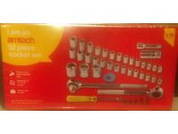 52 piece socket tool set (brand new)