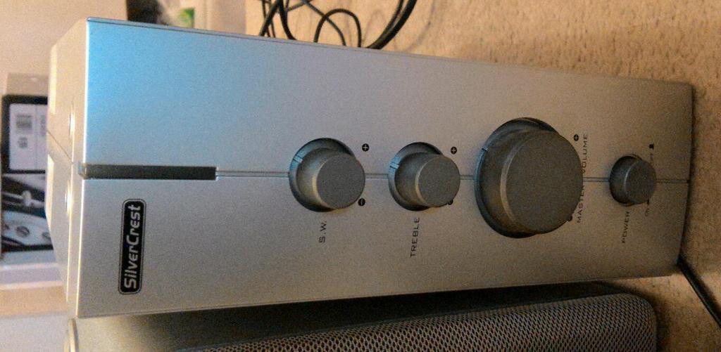 Speaker System 2.1 SilverCrest