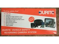"REVERSING CAMERA KIT. 5"" COLOUR MONITOR AND IFRARED CAMERA. (BARGAIN ONLY £185)"