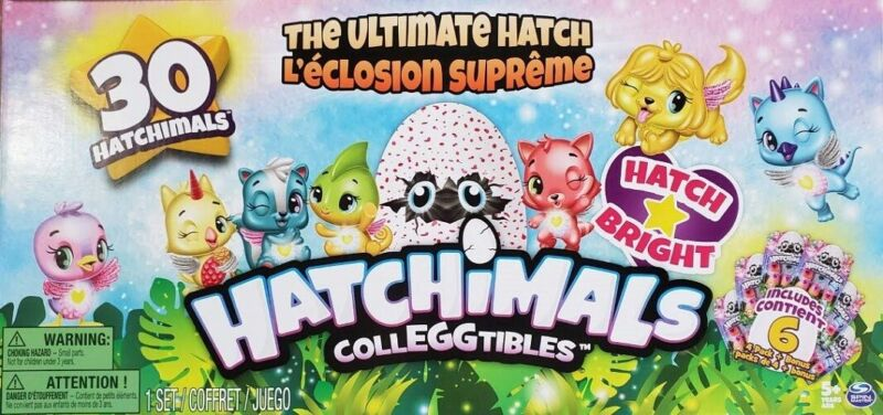 Hatchimals Season 4 CollEGGtibles The Ultimate Hatch 30Pack