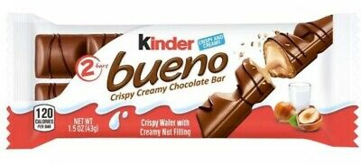 Kinder BUENO Wafer Chocolate Covered WAFER 2 Bars + 10 Packs Candy FREE SHIP Kinder Bueno Candy