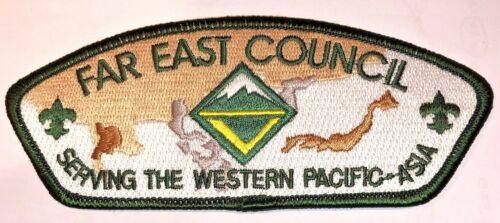 Far East Council Sa-64 Venturing CSP Council Strip Patch Value $50-$60 MINT