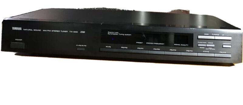 Yamaha TX-340 Natural Sound Stereo Tuner AM/FM Stereo