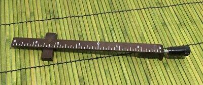 Kingsley Hot Foil Stamping Machine 7-inch Gauge Bar Centering Mark