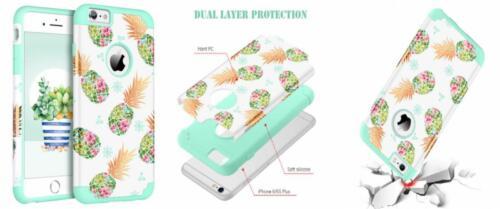 BENTOBEN Phone Case for Apple iPhone 6S Plus/6 Plus Cute Pin