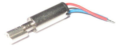 Micro Vibrator Motor With Wires - 1 To 3 V Dc - 14 Mm X 3 Mm - Weighs 2 Grams