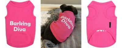 Parisian Pet Dog Cat Clothes Tee Shirts Spoiled, Bone, Troublemaker, S