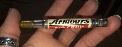 Vintage Advertising Bullet Pencil Armour's Big Crop Fertilizer