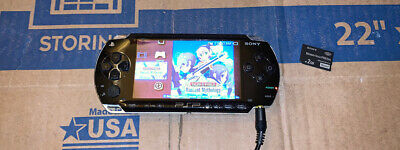 SONY PLAYSTATION PORTABLE PSP 1001 BLACK CONSOLE ONLY No Battery/Charger