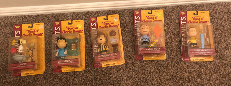 Peanuts Good Ol Charlie Brown Memory Lane Snoopy Lucy Linus Peppermint Patty New