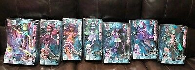 Monster High Dolls, 7 Dolls From The Haunted Series