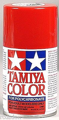 spray red rc car paint for polycarbonate