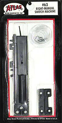 Atlas Code 100 Manual Switch Machine Right-Hand HO 63
