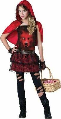 Gothic Rotkäppchen Kostüm - Gothic Rotkäppchen