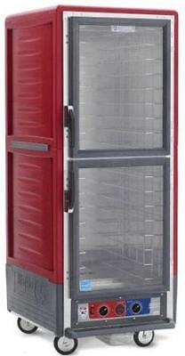 Metro C539-hdc-4 Full Height Heated Holding Cabinet W Fixed Wire Pan Slides