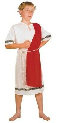 Römischer Kaiser, Griechische Toga, Jungen / Kinder Kostüm Kostüm, Buch - Toga Kostüm Kind