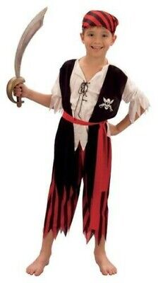 Pirat Jungen Jim Kinder Kostüm Kostüm, Buch Woche Ausverkauf Preis, Unisex