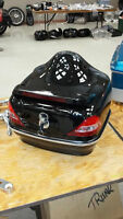 Brand new Motorcycle trunk with built in tail lights