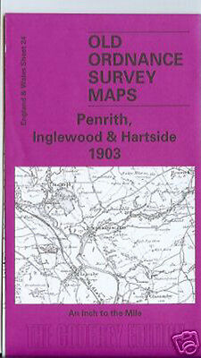 "Ordnance Survey 1"" First Series Map Penrith Kirkoswald Eden I wrote intro 2002"