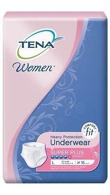 Tena Super Plus Protective Underwear for Women, LARGE, 54900 - Case of 64
