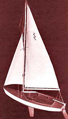 Dumas Lightning Sailboat Kit 19  1110