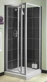Shower door and panel