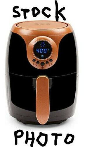 Copper Chef 2 QT AIR FRYER Turbo Cyclonic With Rapid Air Tec
