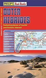 Philip's Red Books Outer Hebrides: Leisure and Tourist Map (PB) ISBN1849073236
