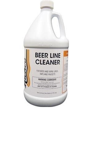 BEER LINE CLEANER, 4 QUART BOTTLES + $5 GIFT CERTIFICATE + FREE SHIPPING $45.89