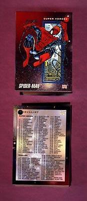 1992 IMPEL MARVEL UNIVERSE SERIES 3 200 CARD COMPLETE BASE SET