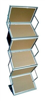 Folding Literature Display Rack - Double Sided