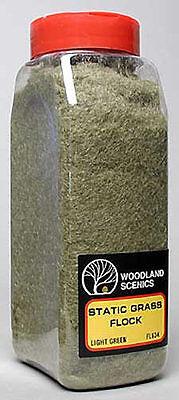 NEW Woodland Scenics Static Grass Flock Light Green 32 oz FL634