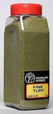 Woodland Scenics 1344 Turf Fine Burnt Grass 32 oz Shaker - NIB