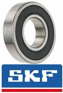 60012RS Genuine SKF Bearing, 12mmX28mmX8mm Sealed Metric Ball Bearing 6001-2RS