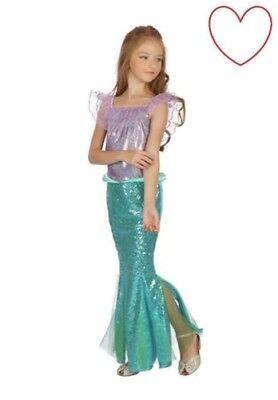 Kinder Meerjungfrau Kostüm Mädchen Kostüm Buch Tag (Buch Tag Kostüm Kinder)