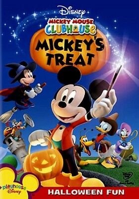 Mickey Mouse Halloween Movies (Playhouse Disney Mickey Mouse Clubhouse Halloween Special Mickey's Treat Kid)