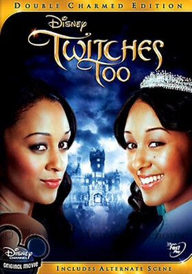 Twin Witches Tia & Tamera Mowry Disney Channel Halloween Movie Twitches Too DVD ()