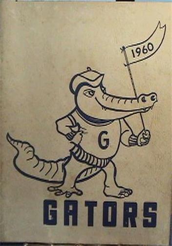 1960 SAINT LUCIE JUNIOR HIGH SCHOOL FLORIDA YEARBOOK VG