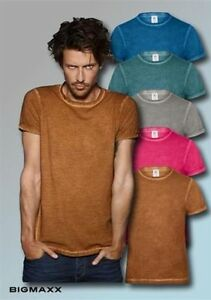 BuC-Camiseta-T-Shirt-Denim-Plug-en-Hombre-en-Clash-Colors-Cuello-redondo