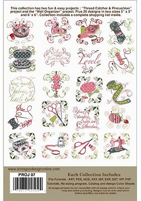 Sew Fun Anita Goodesign Embroidery Design cd CD ONLY