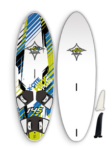 JP sailboard x-cite ride plus 145 With 6.5 chinook sail/rig