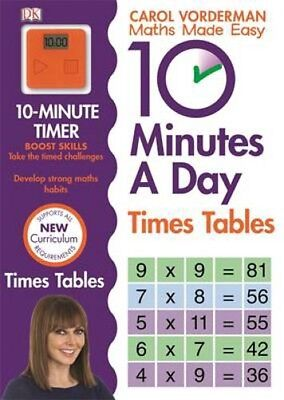 10 Minutes A Day Times Table | Carol Vorderman