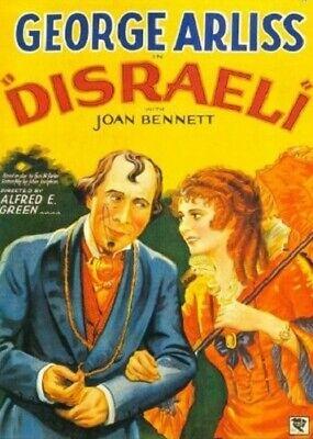 Disraeli - 1929 - George Arliss Doris Lloyd Green Vintage Historical Film DVD