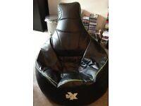 I-EX Gaming Beanbag - Lime and Black