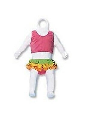 6 Infant Clothing Forms Display Full Body Hanging Male Female Mannequin Hollow