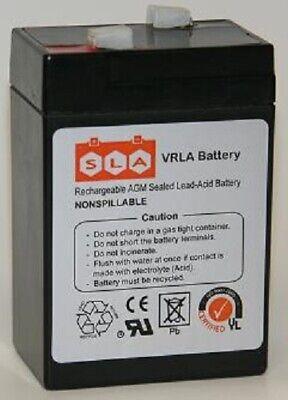 6V 4.5AH SLA Battery Replaces UB645 ELB06042 YT-645 PS-640 3FM4.5 CP645