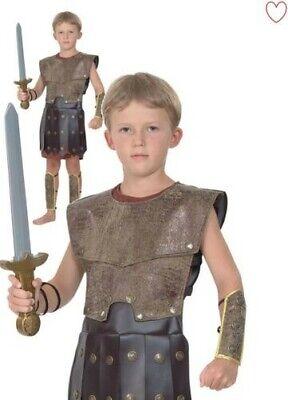 Jungen Krieger Römische Kostüm Griechische Soldat Gladiator Kinder